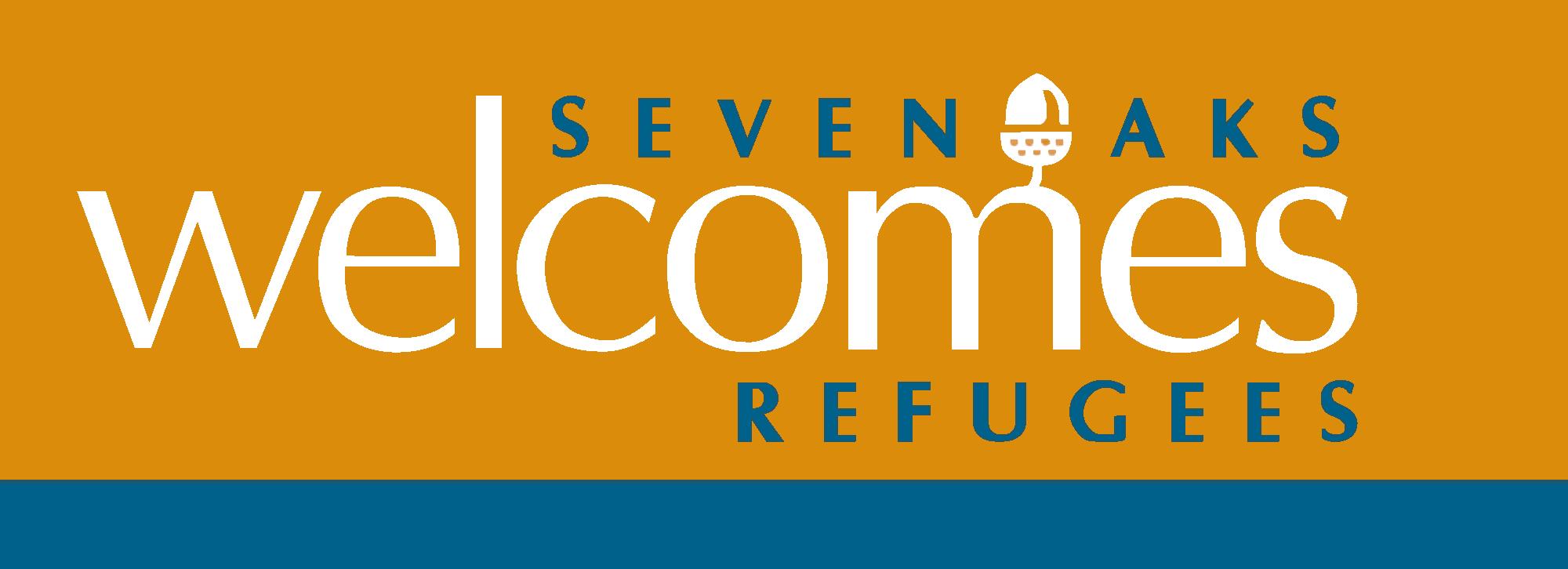 sevenoaks welcomes refugees logo